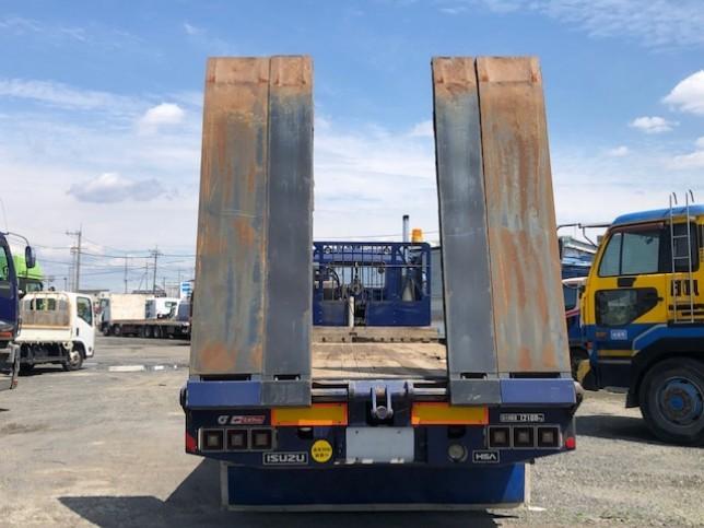 いすゞ ギガ 大型 車輌重機運搬 ウインチ ベッド|画像8