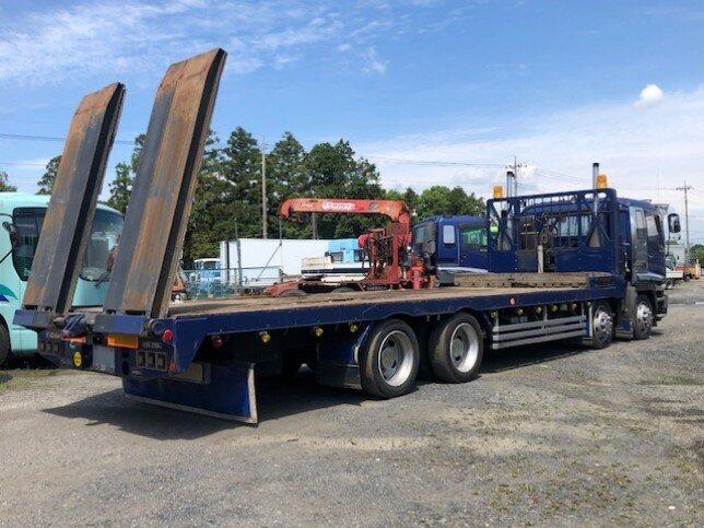 いすゞ ギガ 大型 車輌重機運搬 ウインチ ベッド|画像2