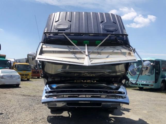 いすゞ ギガ 大型 車輌重機運搬 ウインチ ベッド|画像11
