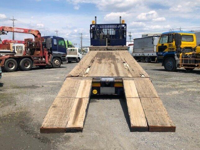 いすゞ ギガ 大型 車輌重機運搬 ウインチ ベッド|画像3