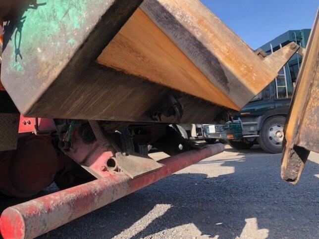 三菱 スーパーグレート 大型 ダンプ コボレーン ベッド 画像13