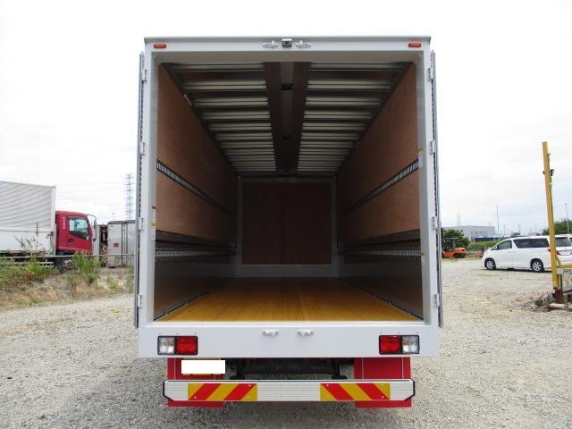 日野 レンジャー 中型 ウイング エアサス ベッド 架装 トランテックス トラック 画像 トラックバンク掲載