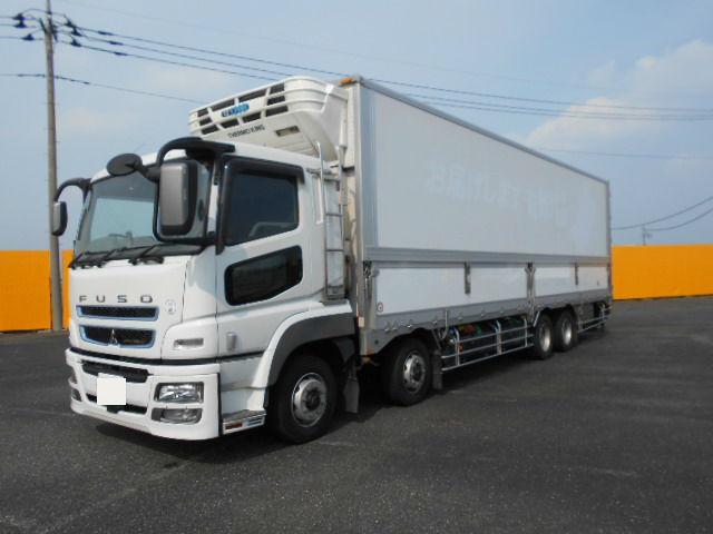 中古 冷凍冷蔵大型 三菱スーパーグレート トラック H28 QPG-FS64VZ