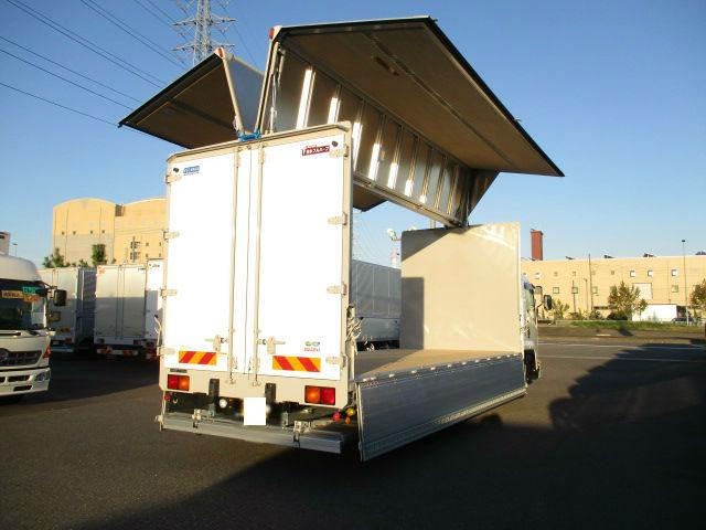 いすゞ フォワード 中型 ウイング パワーゲート ベッド 画像6