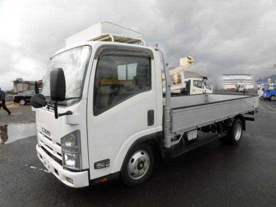 中古 平ボディ小型(2トン・3トン) いすゞエルフ トラック H25 TKG-NLR85AR