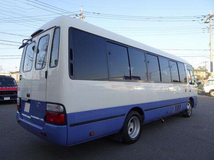 トヨタ コースター 小型 バス マイクロバス SDG-XZB50|トラック 右後画像 リトラス掲載