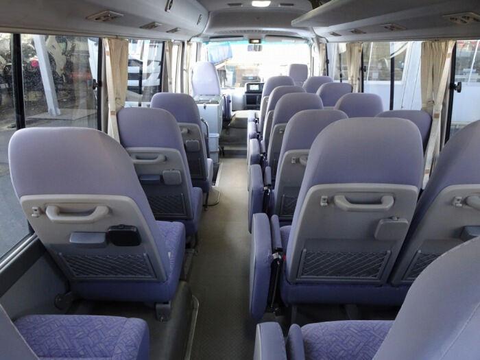 トヨタ コースター 小型 バス マイクロバス SDG-XZB50|型式 SDG-XZB50 トラック 画像 栗山自動車掲載