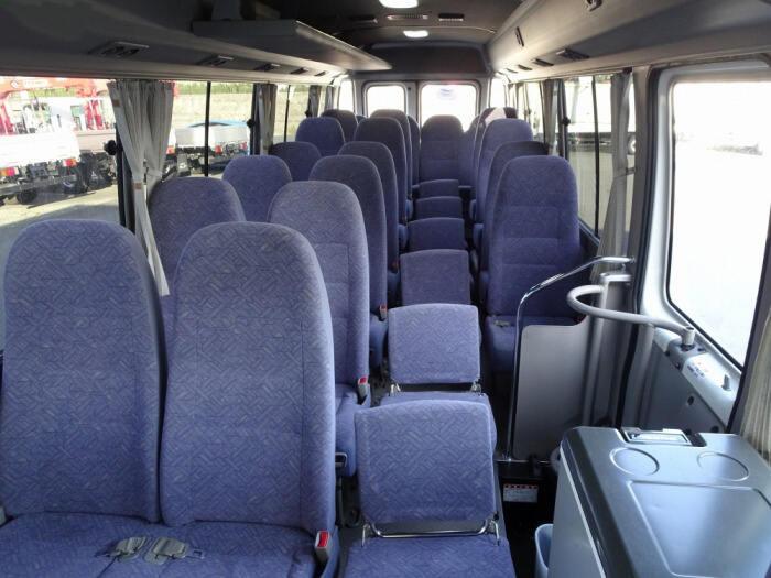 トヨタ コースター 小型 バス マイクロバス SDG-XZB50|シフト AT トラック 画像 ステアリンク掲載