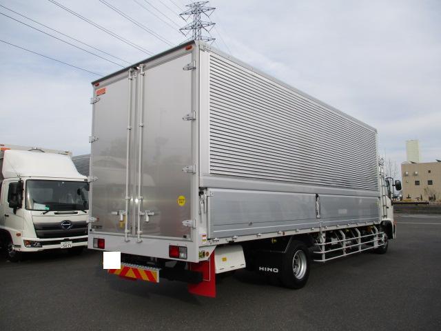 日野 レンジャー 中型 ウイング ベッド 2KG-FD2ABA トラック 右後画像 リトラス掲載