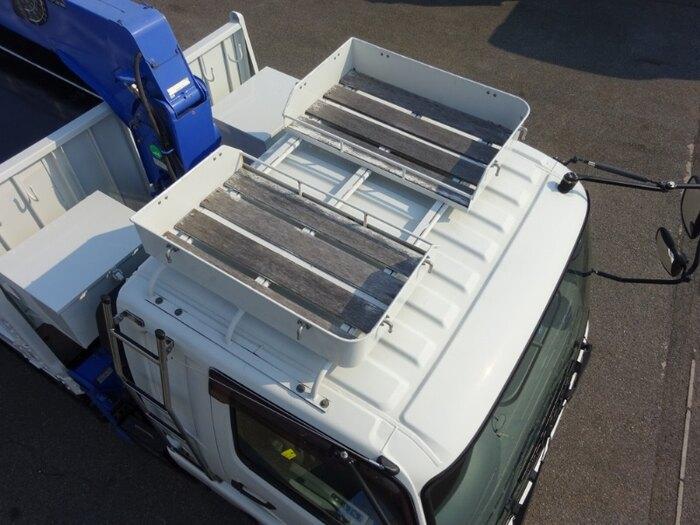 三菱 ファイター 中型 クレーン付 床鉄板 5段|積載 1.8t トラック 画像 ステアリンク掲載