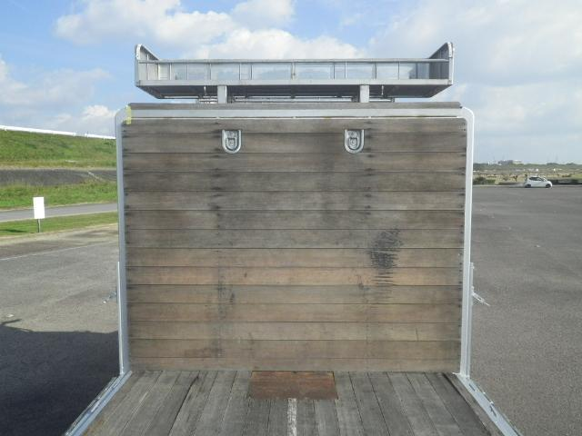 三菱 スーパーグレート 大型 平ボディ アルミブロック エアサス 画像5