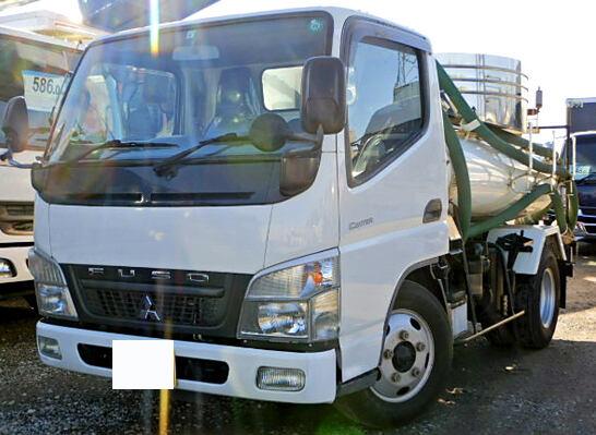 中古 タンク車小型 三菱キャンター トラック H22 PDG-FE73D