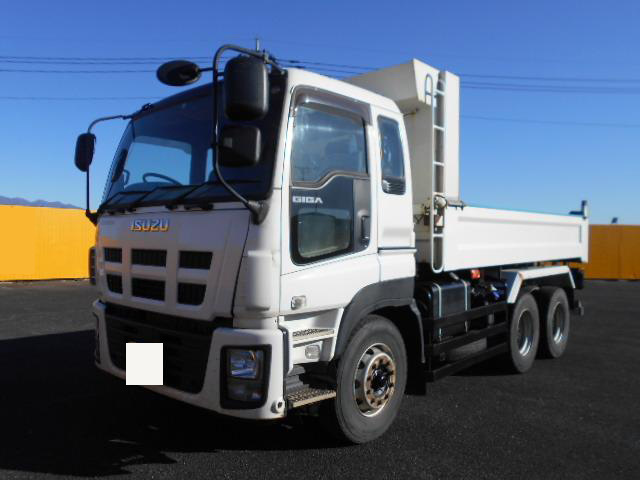 中古 ダンプ大型 いすゞギガ トラック H25 QKG-CXZ77AT
