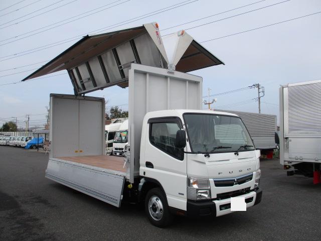 三菱 キャンター 小型 ウイング TPG-FEB50 H30|シフト MT5 トラック 画像 ステアリンク掲載