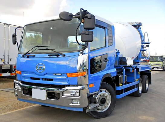 中古 ミキサー・ポンプ中型 日産UDコンドル トラック H25 QDG-PW39L