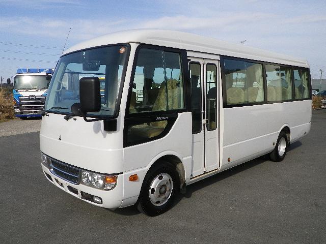三菱 ローザ 小型 バス マイクロバス PDG-BE64DG|トラック 左前画像 トラックバンク掲載