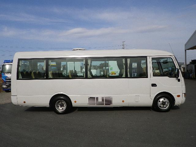三菱 ローザ 小型 バス マイクロバス PDG-BE64DG|トラック 右後画像 リトラス掲載