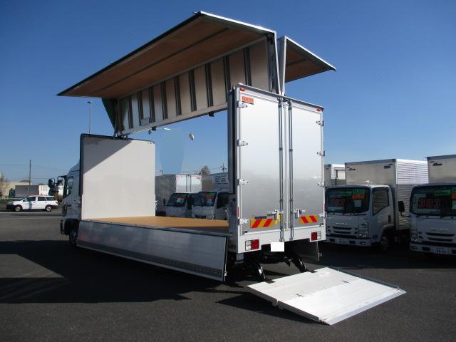 日野 レンジャー 中型 ウイング パワーゲート エアサス フロントガラス トラック 画像 トラック王国掲載