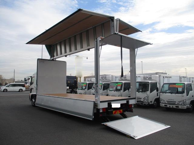 日野 レンジャー 中型 ウイング パワーゲート ベッド 車検 R3.1 トラック 画像 キントラ掲載