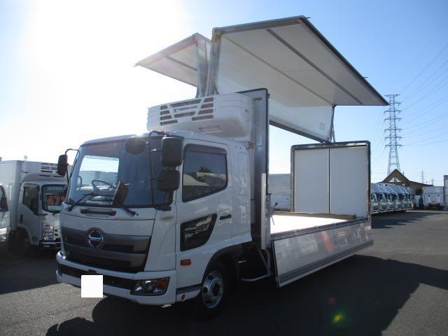 中古 冷凍冷蔵中型 日野レンジャー トラック H30 2KG-FD2ABA