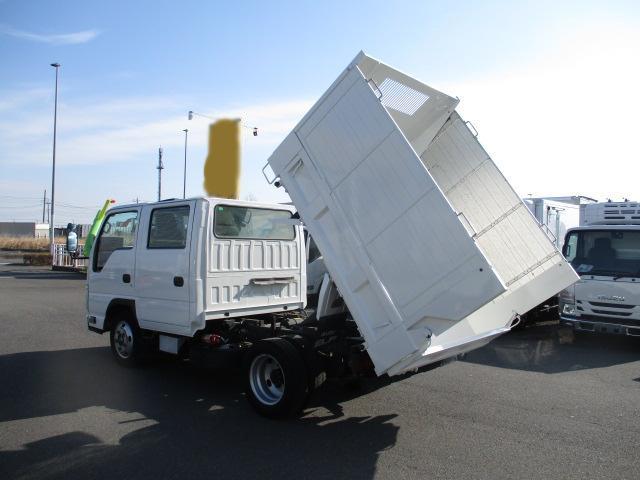 いすゞ エルフ 小型 ダンプ 土砂禁 Wキャブ|リサイクル券 11,910円 トラック 画像 トラック市掲載