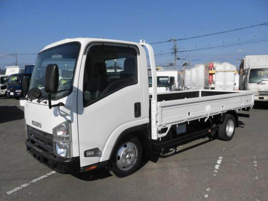 いすゞ エルフ 小型 平ボディ BKG-NLR85AR H21|トラック 左前画像 トラックバンク掲載