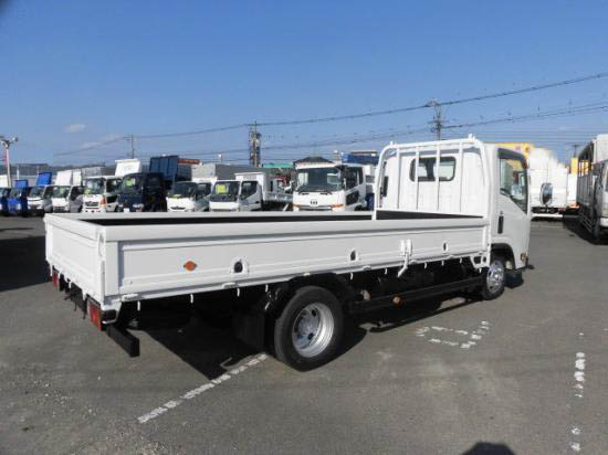 いすゞ エルフ 小型 平ボディ BKG-NLR85AR H21|トラック 右後画像 リトラス掲載
