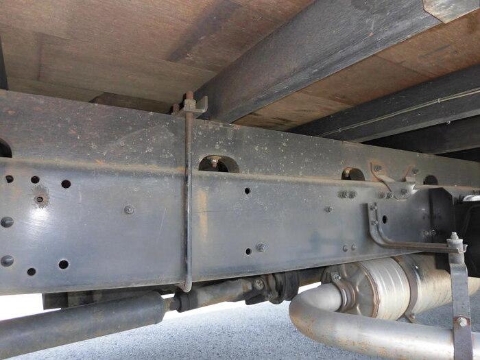 三菱 ファイター 中型 ウイング 幌ウイング 床鉄板|画像9