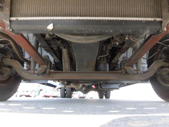 三菱 ファイター 中型 ウイング 幌ウイング 床鉄板|画像8