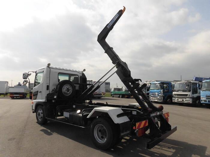 日野 レンジャー 中型 アームロール ツインホイスト TKG-FC9JEAA|トラック 背面・荷台画像 トラック市掲載
