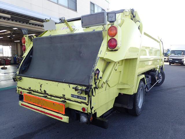 日野 デュトロ 小型 パッカー車 プレス式 BJG-XKU414M|トラック 右後画像 リトラス掲載