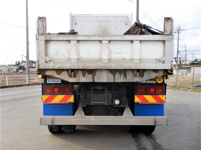 いすゞ ギガ 大型 ダンプ コボレーン ベッド|トラック 背面・荷台画像 トラック市掲載