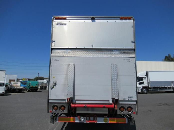 日野 プロフィア 大型 ウイング パワーゲート ハイルーフ|トラック 背面・荷台画像 トラック市掲載