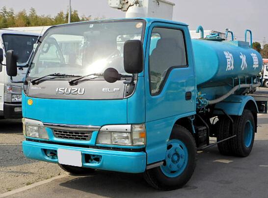 いすゞ エルフ 小型 タンク車 散水車 KR-NKR81ED|画像1
