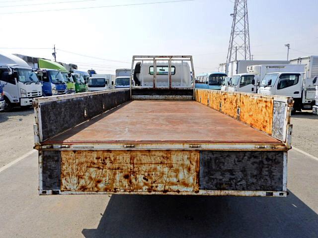 トヨタ トヨエース 小型 平ボディ 床鉄板 PB-XZU433|トラック 背面・荷台画像 トラック市掲載