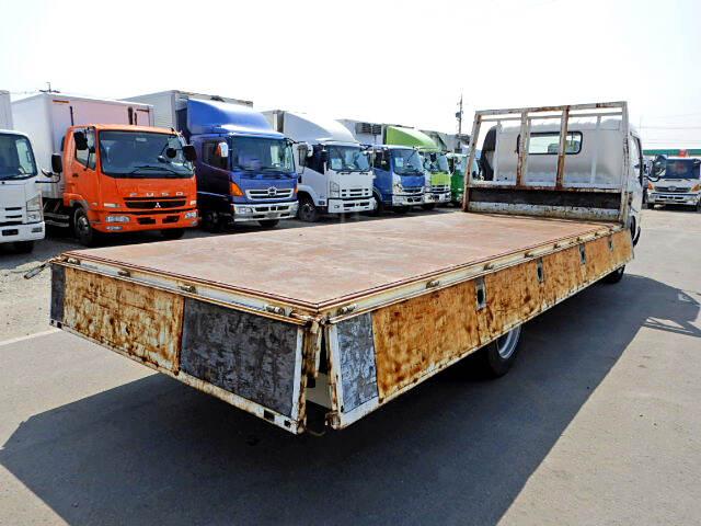 トヨタ トヨエース 小型 平ボディ 床鉄板 PB-XZU433|トラック 右後画像 リトラス掲載