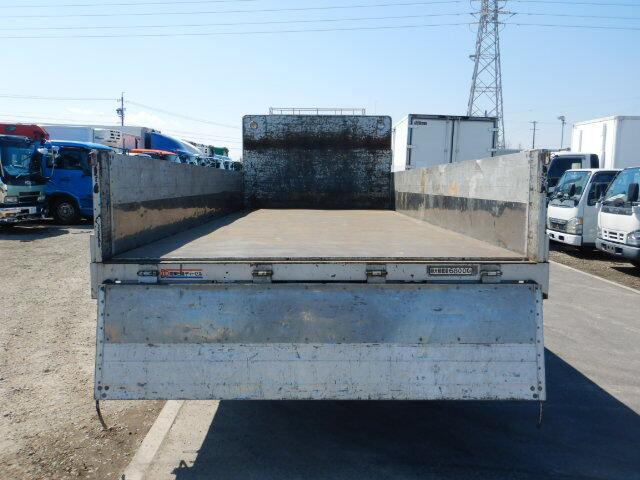 日産UD コンドル 中型 平ボディ 床鉄板 アルミブロック|画像4