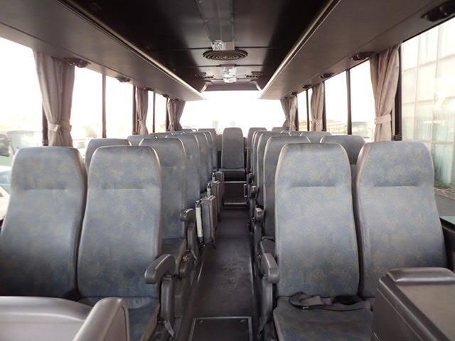 三菱 エアロミディ 中型 バス 観光バス KK-MJ26HF|フロントガラス トラック 画像 トラック王国掲載