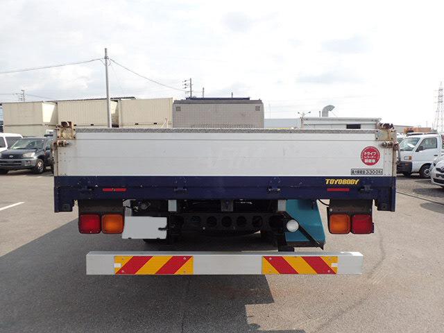 日産UD コンドル 中型 平ボディ 床鉄板 アルミブロック|トラック 背面・荷台画像 トラック市掲載