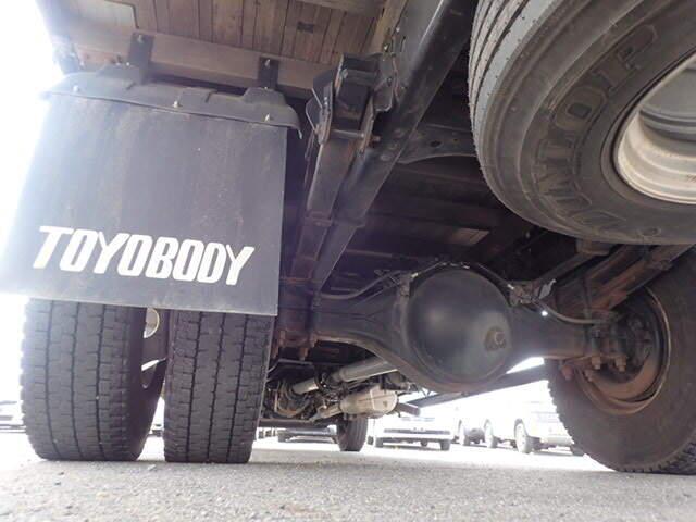 日産UD コンドル 中型 平ボディ 床鉄板 アルミブロック|シフト  トラック 画像 ステアリンク掲載
