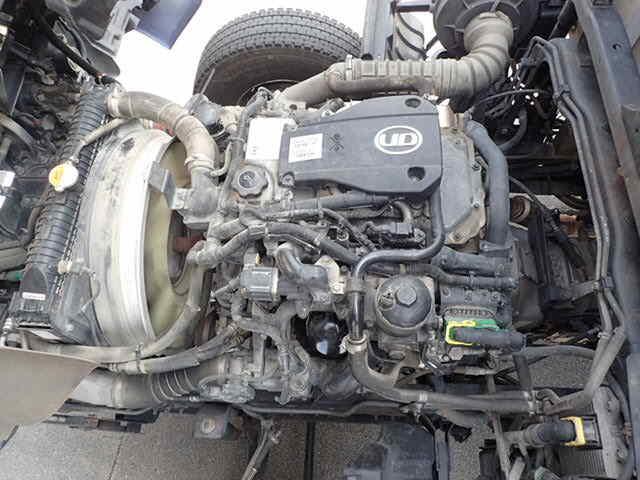 日産UD コンドル 中型 平ボディ 床鉄板 アルミブロック|型式 TKG-MK38L トラック 画像 栗山自動車掲載