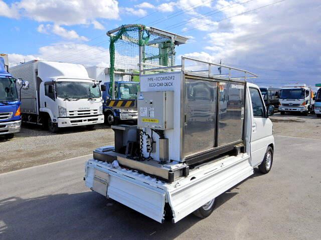 日産 クリッパー 軽 高所・建柱車 高所作業車 GBD-U71T|トラック 右後画像 リトラス掲載