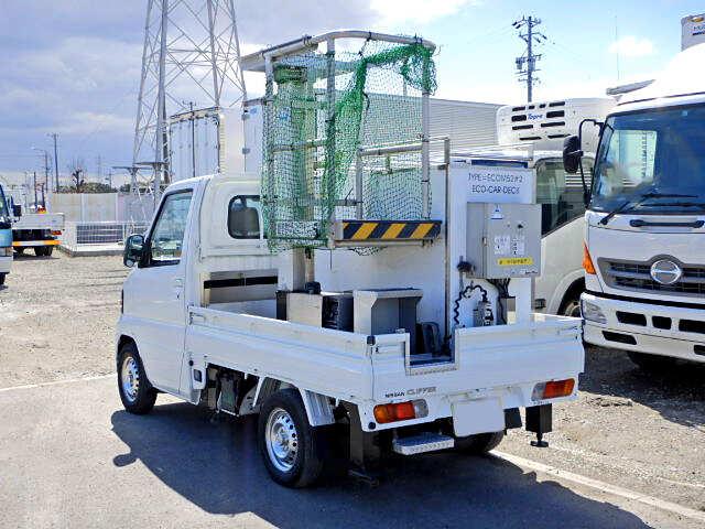 日産 クリッパー 軽 高所・建柱車 高所作業車 GBD-U71T|積載 0.3t トラック 画像 ステアリンク掲載