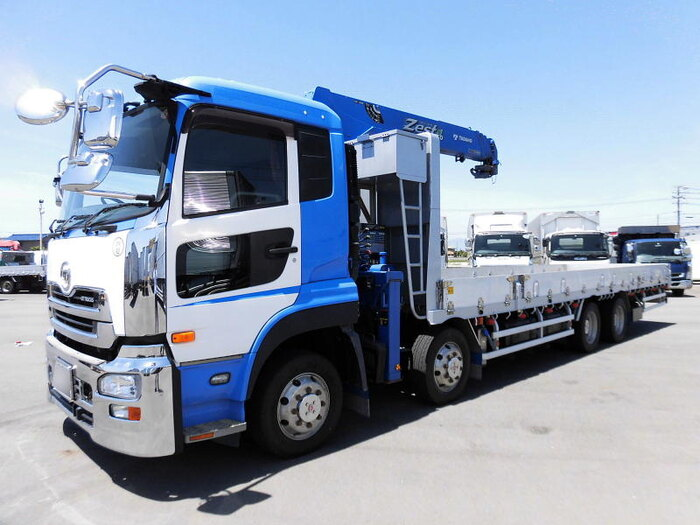 中古 クレーン付大型 日産UDクオン トラック H25 QKG-CG5ZA