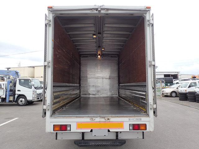 三菱 キャンター 小型 ウイング 床鉄板 PA-FE83DGY|荷台 床の状態 トラック 画像 トラックサミット掲載