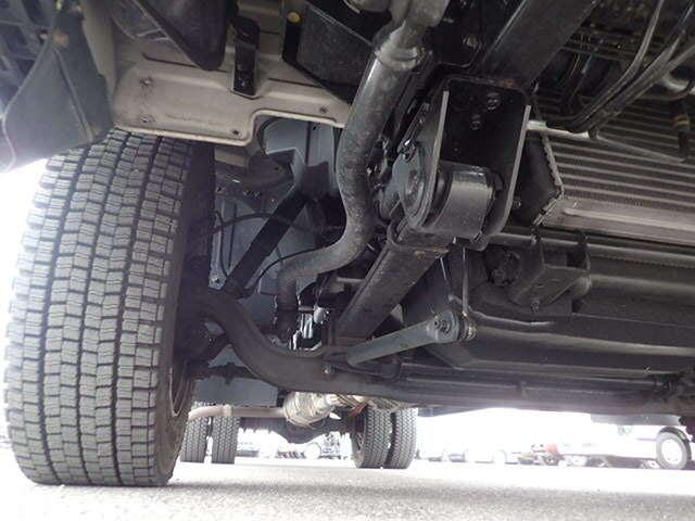 三菱 キャンター 小型 ウイング 床鉄板 PA-FE83DGY|シャーシ トラック 画像 キントラ掲載