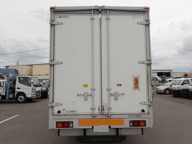三菱 キャンター 小型 ウイング 床鉄板 PA-FE83DGY|トラック 背面・荷台画像 トラック市掲載
