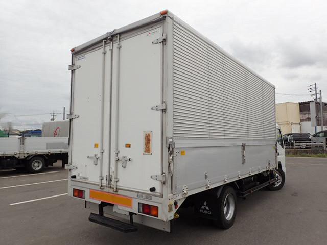 三菱 キャンター 小型 ウイング 床鉄板 PA-FE83DGY|トラック 右後画像 リトラス掲載
