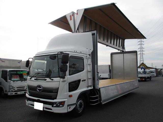 ウイング中型  トラック H30 2KG-FE2ABA