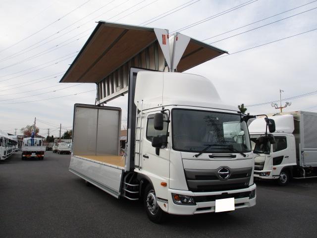 日野 レンジャー 中型 ウイング ベッド 2KG-FE2ABA 年式 H31/R1 トラック 画像 トラックサミット掲載
